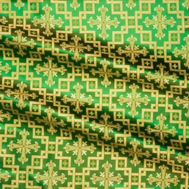 ☦️SILK GREEN (JERUSALEM CROSS) •  buy   for sale