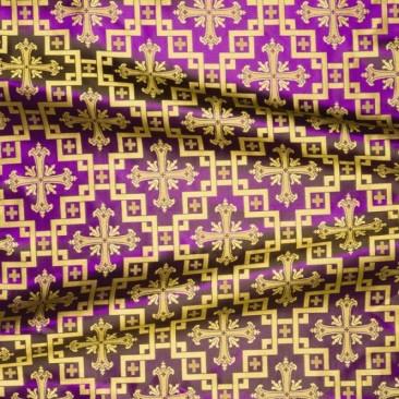 Шовк фіолетовий «Єрусалимський хрест»