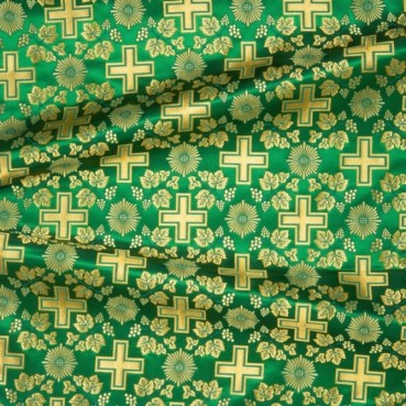 ☦️SILK GREEN (SERBIAN CROSS) •  buy | for sale
