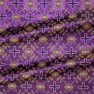 Шовк фіолетовий «Сербський хрест»