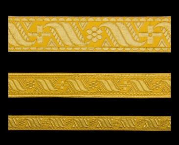 Галун «Афон» желтый с золотом