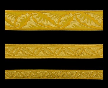 Galloon (Polistavry) yellow with gold