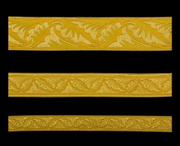 Галун «Полиставрий» желтый с золотом