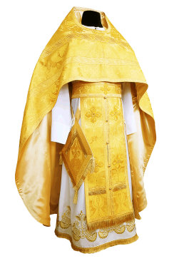 Priest Vestment yellow