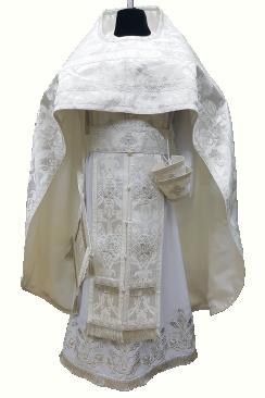 Priest Vestment white