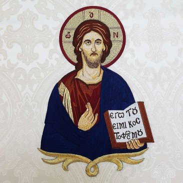 Икона на оплечье «Иисус Христос Блаженный»
