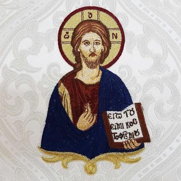 Икона на палицу «Иисус Христос Блаженный»