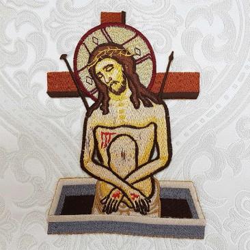 Икона на палицу «Христос»