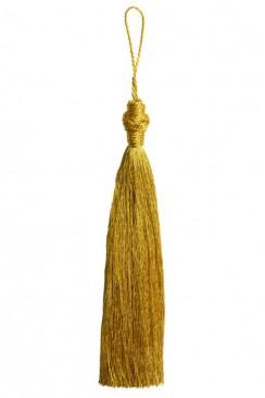 Кисточка удлиненная золотая
