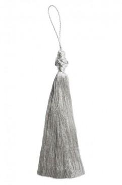 Кисточка удлиненная в серебре