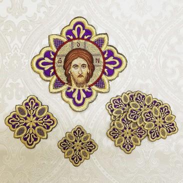 Комплект хрестів для грецького облачення