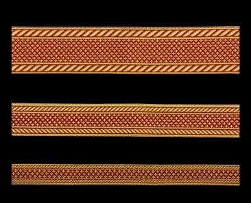 Галун «Эфес» красный с золотом