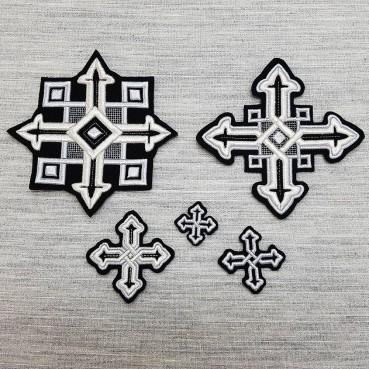 ☦️Набор крестов на облачения | КУПИТЬ >> Украина | Киев • Аксессуары и фурнитура