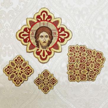 Набір вишитих хрестів для грецького облачення