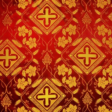 Church Silk (Vine) red