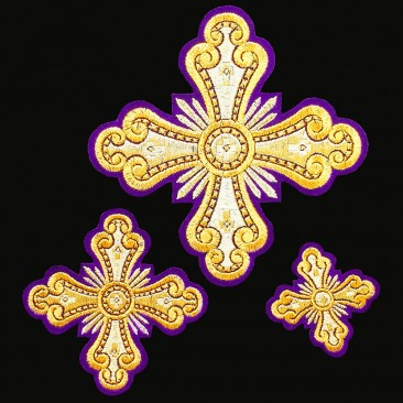 Set of Crosses for Deacon's Vestments (Prince)