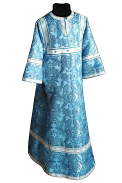 Стихарь детский голубой (рост 134-146)