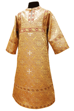 Altar Boy Sticharion yellow. For kids' height 110-128cm (42-51'')