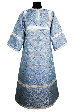 Стихарь синий подростковый (рост 152-158)