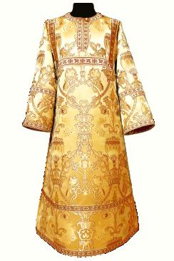 Стихарь желтый детский (рост 134-146)