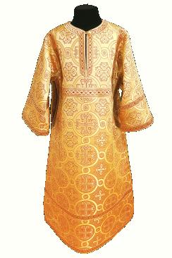 Стихарь желтый подростковый (рост 152-158)