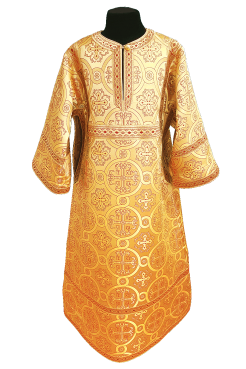 ☦️YOUNG SERVER ROBE YELLOW (HEIGHT 152-158) •  buy | for sale >>> ORTHODOX